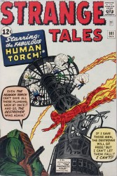 Strange Tales #101 1st Solo Human Torch since 1954!