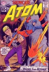 Showcase #35 2nd Silver Age Atom!