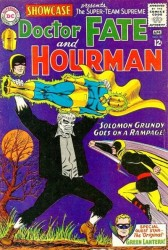 Showcase #55 1st Silver Age Solomon Grundy!