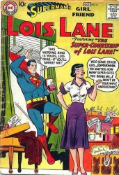 Superman's Girl Friend, Lois Lane #4