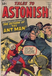 Tales To Astonish #35 1st Ant Man in Costume!
