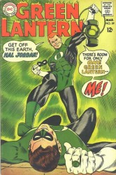 Green Lantern #59 1st Guy Gardner!