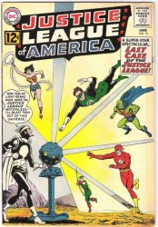 Justice League Of America #12 1st Dr. Light!