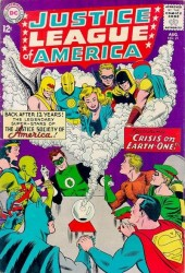 Justice League Of America #21 1st Silver Age Hourman and Dr. Fate!