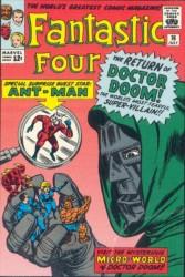 Fantastic Four #16 Doctor Doom!