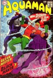Aquaman #35 1st Black Manta!