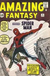 Amazing Fantasy #15 1st Spider-Man!