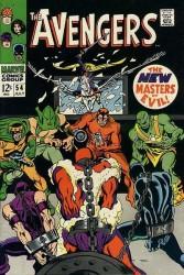 Avengers #54 1st New Masters of Evil!