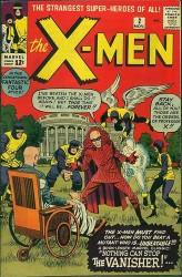 X-Men #2 1st Vanisher!