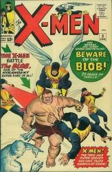X-Men #3 1st Blob!