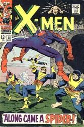 X-Men #35 Spider-Man! 1st Changeling!