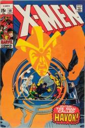 X-Men #58 1st Havok!