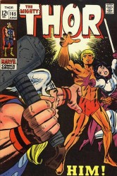Thor #165 1st full App HIM (Adam Warlock)!