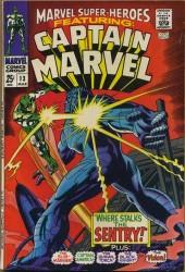 Marvel Super-Heroes #13 1st Carol Danvers!