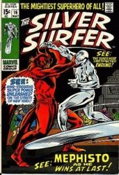 Silver Surfer #16 Vs Mephisto!