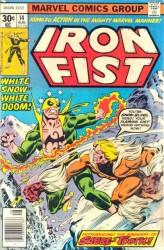 Iron Fist #14 1st Sabretooth!
