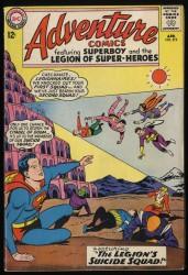 Item: Adventure Comics #319 FN- 5.5