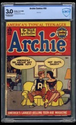 Item: Archie Comics #55 CBCS GD/VG 3.0 Off White to White