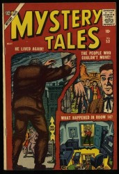Item: Mystery Tales #53 VF+ 8.5 White Circle 8