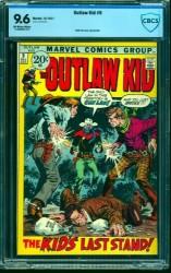 Outlaw Kid #9 CBCS NM+ 9.6 Off White to White