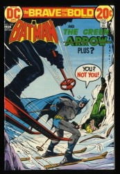 Brave And The Bold #106 NM+ 9.6 Batman Green Arrow!
