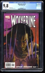 Wolverine (2003) #7 CGC NM/M 9.8 White Pages!