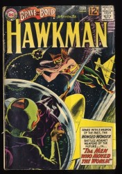 Brave And The Bold #44 GD 2.0 Hawkman!