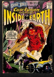 Brave And The Bold #31 GD/VG 3.0 1st Cave Carson