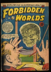 Forbidden Worlds #25 GD 2.0 Floating Heads Cover!