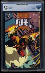 Batman: Sword of Azrael #1 CBCS NM- 9.2 White Pages