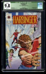 Harbinger #2 CGC NM/M 9.8 White Pages (Qualified)