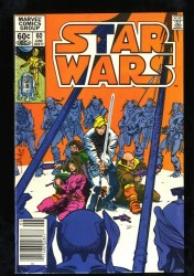 Star Wars #60 VF- 7.5 1st Rogue Squadron! Newsstand!