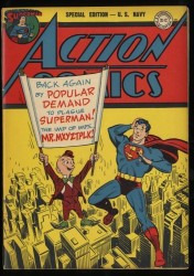 Special Edition #1 FN/VF 7.0 (R) US Navy Giveaway Action Comics #80 Reprint!