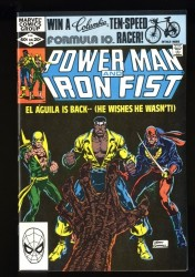 Power Man and Iron Fist #78 VF/NM 9.0 3rd Sabretooth!