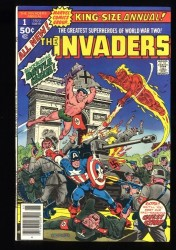 Invaders Annual #1 VF 8.0