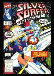 Silver Surfer (1987) #81 NM 9.4 1st Tyrant!