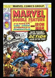 Marvel Double Feature #10 NM 9.4
