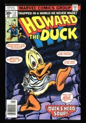 Howard the Duck #12 NM- 9.2 KISS Appearance!