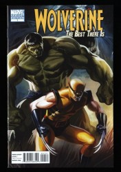 Wolverine: The Best There Is #1 NM+ 9.6 1:50 Djurdjevic Variant