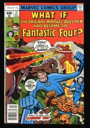 What If? (1977) #11 NM+ 9.6 Fantastic Four!
