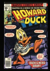 Howard the Duck #12 NM 9.4 KISS Appearance!