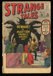 Strange Tales #78 P 0.5 Complete and Unrestored Ant-Man Prototype!