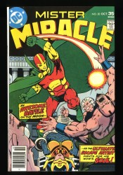 Mister Miracle #20 NM 9.4