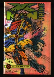 X-Men: Prime #1 NM/M 9.8 Signed Lobdell and Collazo Dynamic Forces!