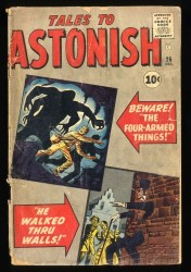 Tales To Astonish #26 GD- 1.8