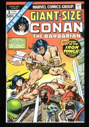 Giant-Size Conan #3 VF/NM 9.0 White Pages