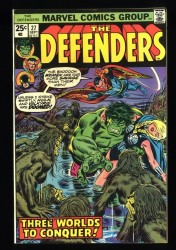 Defenders #27 NM- 9.2 1st Cameo of Starhawk!