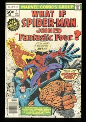 What If? #1 VF 8.0 Spider-Man joined the Fantastic Four!