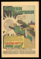 Green Lantern #3 CV 0.1 Full Page Ad for JLA #1!