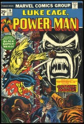 Power Man and Iron Fist #19 VF- 7.5 1st Cottonmouth!